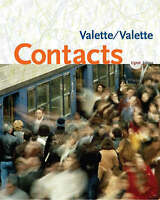Contacts. Contacts Student Text by Valette, Jean-Paul|Valette, Rebecca (Mixed me