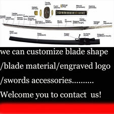 20Customize Your Japanese Samurai Katana Wakizashi Tanto Chinese European Knives