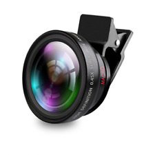 37mm Wide Angle Lens 0.45x Conversion Lens Close-Up Attachment for Camera/iPhone