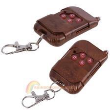 433MHz 4 Keys DC12V Wireless Remote Control Learning Code EV1527 Transmitter