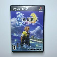 Final Fantasy X 10 PlayStation 2 PS2 Game Complete and Tested black Label