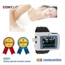CONTEC wrist RS01 Respiration Sleep Monitor,SPO2, PR Nose Air Flow PC software