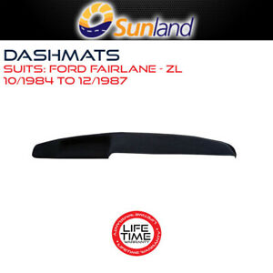 Sunland Dashmat Fits Ford Fairlane ZL 10/1984 - 12/1987 All Models Mat Covers