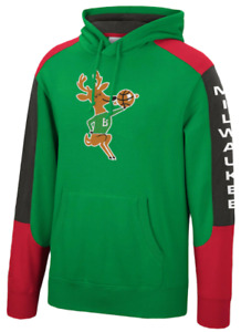 Milwaukee Bucks Mitchell & Ness NBA Fusion Fleece Hoody