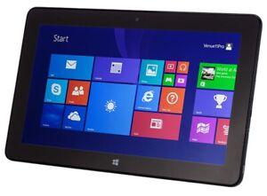 """Dell Venue11 Pro Touch PC/5 10.8"""" 2GB RAM 128GB SSD Intel Atom 1.46 Win 10"""