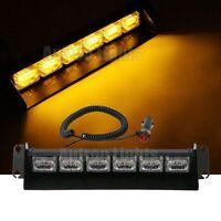 "18 LED 14"" Amber Traffic Advisor Emergency Flashing Dash Windshield Strobe Light"