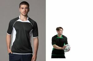 Mens Gamegear Cooltex Rugby Top by Kustom Kit - Boys Rugby Shirt XXS, S, KK994