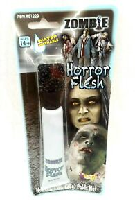 Zombie Horror Flesh Textured Cream Costume Makeup Face Paint Gray Tube Washable
