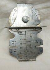 1878 H. Maranville Dial Coin Tester Silver & Gold Coin Counterfeit Tester