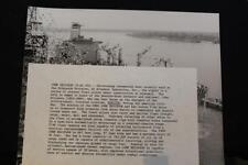 MILITARY SHIP PHOTO USNS JOHN ERICSSON CHRISTENED (TAO-194) 8' X 10' B & W(P1065