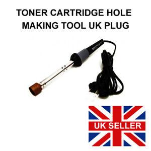Hole Making Tool. Toner Refill Tool For Melting Refilling Holes Soldering Iron