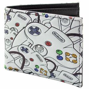 Official Nintendo N64 Multiple Controller Design ID&Card Bi-Fold Wallet*SECOND*