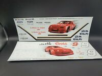 1/25 AMT ERTL Bill Elliott Stock Car Transporter Decals  #6019 1990 Issue #2