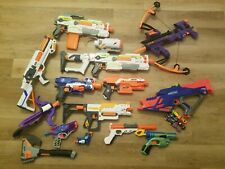 Nerf Gun Lot Of 13 + Accessories - Stryfe, Modulus, Rebelle, and more!