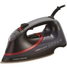 Morphy Richards 303125 Turbo Steam Diamond Iron 3100 Watt Black / Red New from