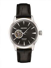 Seiko Men's Presage Automatic Watch 23 Jewel Exhibition Back SSA359