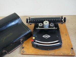 G&K typewriter Machine a Ecrire 打字机 Antique Schreibmaschine escribir scrivere