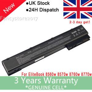 Battery For HP EliteBook 8760W 8770W 8570w 8560W Mobile Workstation VH08 632113-