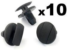 10x Peugeot Wheel Arch Lining, Undertray & Splashguard Plastic Trim Clip / Rivet
