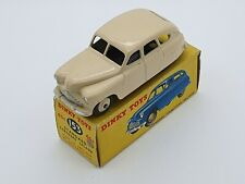 DINKY TOYS 153 (40E) STANDARD VANGUARD CREAM BODY AND HUBS 1948 BOXED RARE