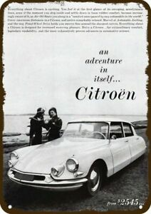 1960 CITROEN Car Vintage Look DECORATIVE METAL SIGN  SCUBA DIVE SCUBA DIVERS DIV