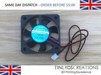 12v DC Brushless Fan 5010s - Axial Fan - 0.16a -  50x50x10mm 3d printer part