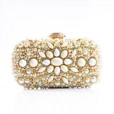Borsa donna  pochette sera tracolla oro  gioiello elegante simil pelle  2387