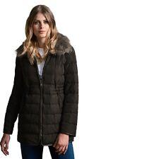 Windsmoor Pu Trim Collar Down Coat UK Size 16 rrp £179 TD075 DD 05