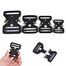 Quick Side Release Metal Strap Buckles For Webbing Bags Luggage Accessor_Us