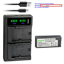 Kastar Battery LTD2 Charger for Sony NP-FC10 BC-VC10 & Sony Cyber-shot DSC-P8R