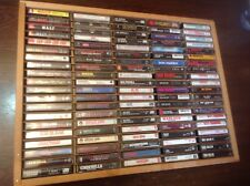 100 CASSETTE LOT METAL IRON MAIDEN, MEGADETH, ANTHRAX, METAL, CHURCH, KISS