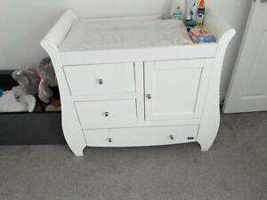 nursery furniture set white