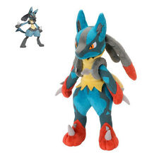 "11""Pokemon Soft Plush Lucario Doll Soft Toy Christmas Kids Gift Stuffed Animal ^"