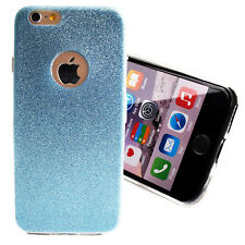 Mobile Case Glitter for iPhone 4 4s TPU Bling Silicone Light Soft Cover Back