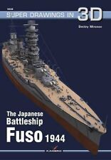 Kagero Super Drawings in 3D 48: The Japanese Battleship Fuso