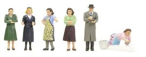 People and Animals for Hornby OO/HO Gauge Train Sets - Scenery by Bachmann #3