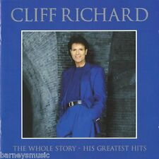 CLIFF RICHARD ( NEW 2 CD SET ) THE WHOLE STORY / 46 GREATEST HITS / VERY BEST OF
