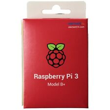 Raspberry Pi 3 Model B+ Quad Core 1.4GHz 64bit CPU 1GB RAM WiFi & Bluetooth 4.2
