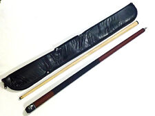 """POWERGLIDE 2 PC 57"""" ROGUE AMERICAN POOL CUE WITH SOFT CASE. 12mm TIP"""