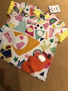 Room Seven T Shirt Age 2  & Co Ordinating Socks Size 26-28 Bnwt