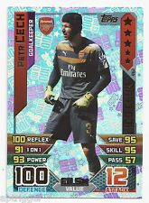 2015 / 2016 EPL Match Attax 100 Club (461) Petr CECH Arsenal