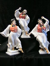HEREND GYPSY DANCER TRIO~ lot of 3 HUNGARIAN EXQUISITE Porcelain Figurines