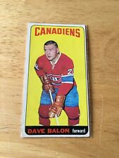 Topps Hockey 1964-65 Dave Balon  Montreal Canadiens card # 37