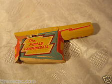 Vintage 4th of July Fireworks casing The Human Cannonball