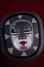 550022 maschera di MURO INDONESIANO a4 foto stampa