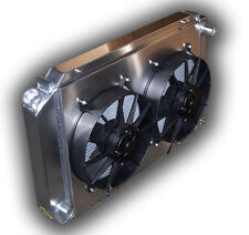 NEW HD Aluminum Radiator 1979 - 1993 Ford Mustang 302 5.0L - 5 SPEED DUAL FANS
