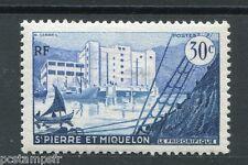 St. PIERRE et MIQUELON 1955 timbre 348, bateaux, neuf**