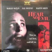 Hear No Evil / Widescreen -  Laserdisc NIB NEW SEALED