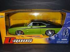Jada 1970 Dodge Charger R/T D-Rods 2005 Lime Green 1:24 Scale Diecast Model Car