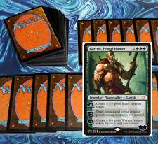 mtg GREEN RAMP DECK Magic the Gathering rares 60 cards garruk gigantosaurus